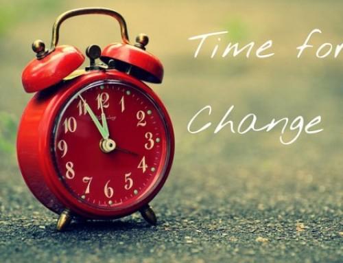 שינוי זה דבר קל ?