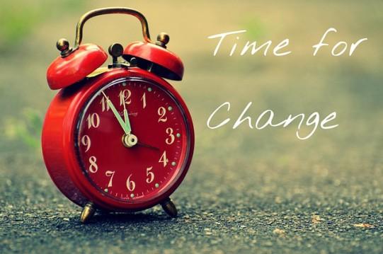 שינוי זה דבר קל?